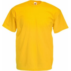 T-shirt Fruit of the Loom Valueweight T Sunflower