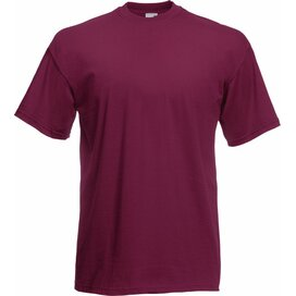 T-shirt Fruit of the Loom Valueweight T Burgundy