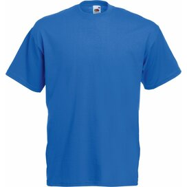 T-shirt Fruit of the Loom Valueweight T Royal Blue