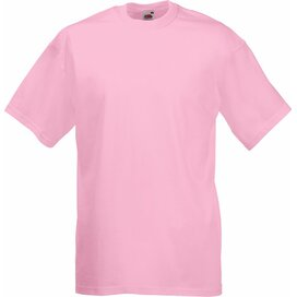 T-shirt Fruit of the Loom Valueweight T Light Pink