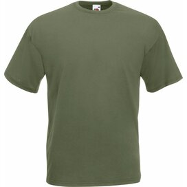 T-shirt Fruit of the Loom Valueweight T Classic Olive