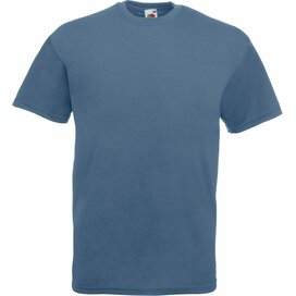 T-shirt Fruit of the Loom Valueweight T Steel Blue