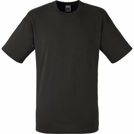 T-shirt Fruit of the Loom Valueweight T Charcoal