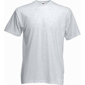 T-shirt Fruit of the Loom Valueweight T Ash