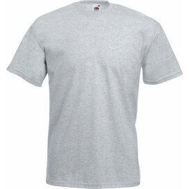 T-shirt Fruit of the Loom Valueweight T Heather Grey