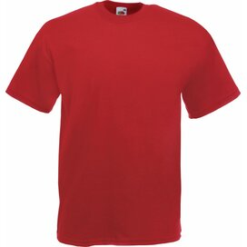 T-shirt Fruit of the Loom Valueweight T Brick Red