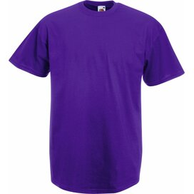 T-shirt Fruit of the Loom Valueweight T  Purple