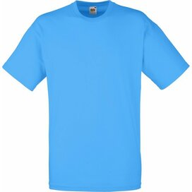 T-shirt Fruit of the Loom Valueweight T Azure Blue