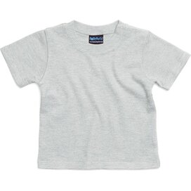Baby Tee Light Grey Melange