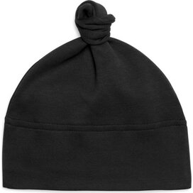 Baby One-knot Hat Black