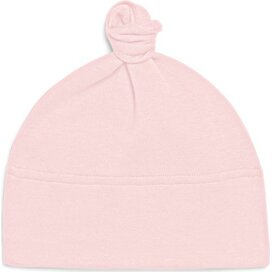 Baby One-knot Hat Powder Pink