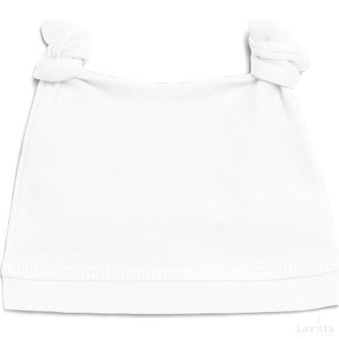 Organic Baby Hat White
