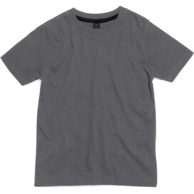 Kids Super Soft Tee Washed Charcoal