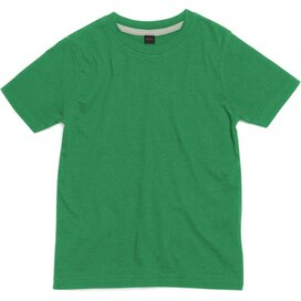 Kids Super Soft Tee Washed Kelly Green
