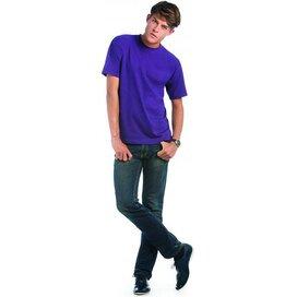 T-shirt B&C Exact 190 Purple