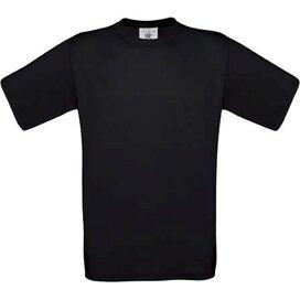 T-shirt B&C Exact 190 Black