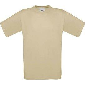 T-shirt B&C Exact 190 Sand