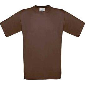 T-shirt B&C Exact 190 Chocolate