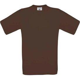 T-shirt B&C Exact 190 Brown