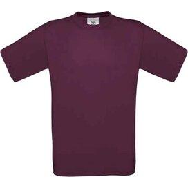 T-shirt B&C Exact 190 Burgundy