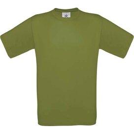 T-shirt B&C Exact 190 Green Moss