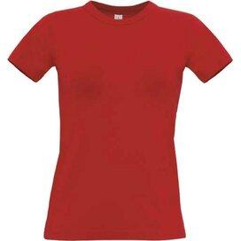 T-Shirt B&C Exact 190 Women Red