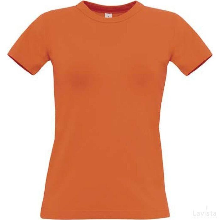 T-Shirt B&C Exact 190 Women Orange
