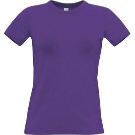 T-Shirt B&C Exact 190 Women Purple