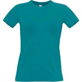 T-Shirt B&C Exact 190 Women Diva Blue