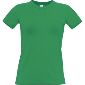 T-Shirt B&C Exact 190 Women Kelly Green
