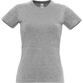 T-Shirt B&C Exact 190 Women Sport Grey