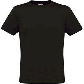 T-shirt B&C Men Only Black