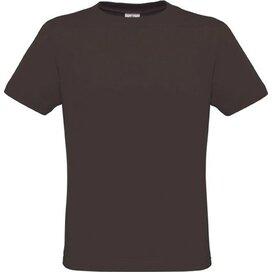 T-shirt B&C Men Only Bear Brown