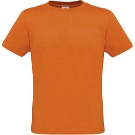 T-shirt B&C Men Only Pumpkin Orange