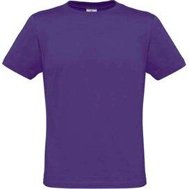 T-shirt B&C Men Only Purple