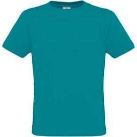 T-shirt B&C Men Only Diva Blue