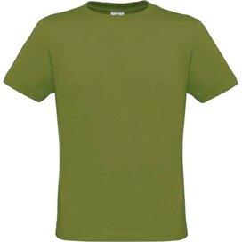 T-shirt B&C Men Only Green Moss