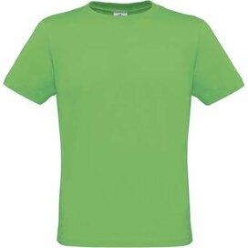 T-shirt B&C Men Only Real Green