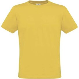 T-shirt B&C Men Only Used Yellow