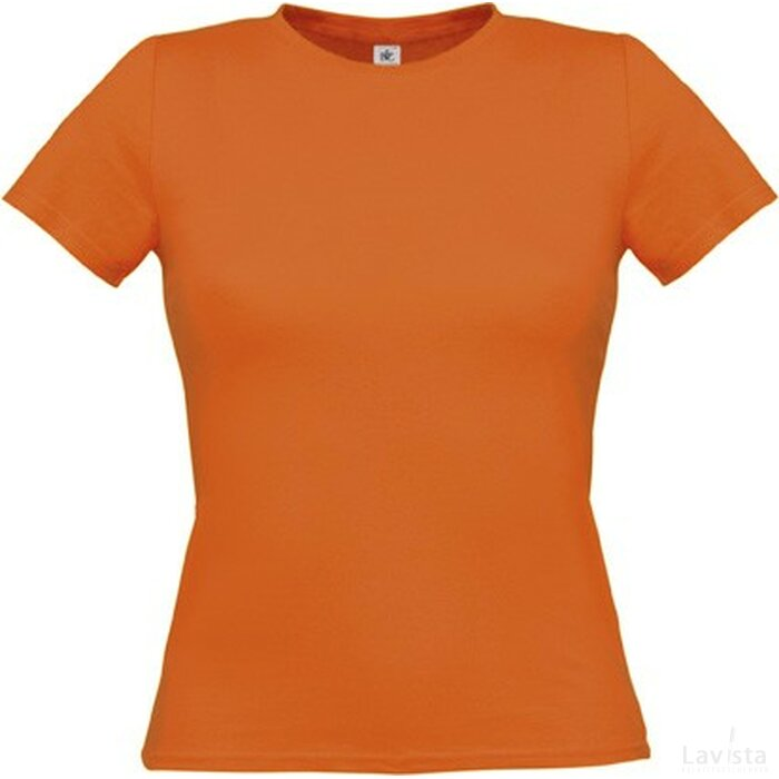 T-shirt B&C Women-Only Pumpkin Orange