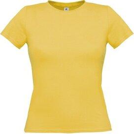 T-shirt B&C Women-Only Used Yellow