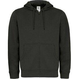 Hooded Full Zip Men Black