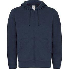 Hooded Full Zip Men Navy