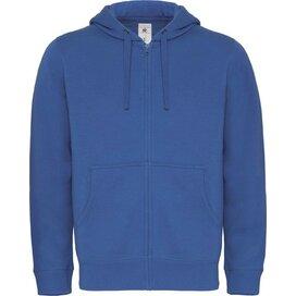 Hooded Full Zip Men Royal Blue