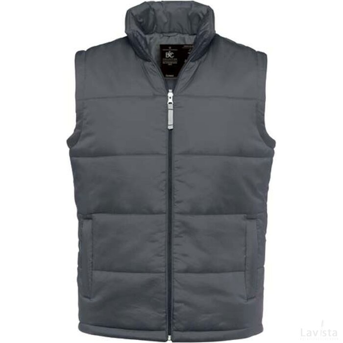 Bodywarmer Men Dark Grey