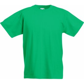 Kids Valueweight T Kelly Green