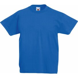 Kids Valueweight T Royal Blue