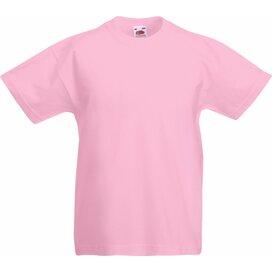 Kids Valueweight T Light Pink