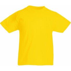 Kids Valueweight T Yellow