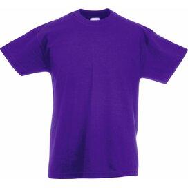 Kids Valueweight T Purple
